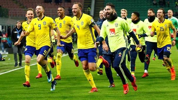İsveç karşısında tutmadı