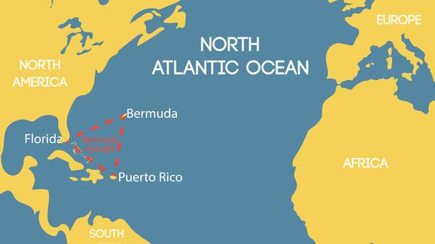 10. Bermuda Şeytan Üçgeni