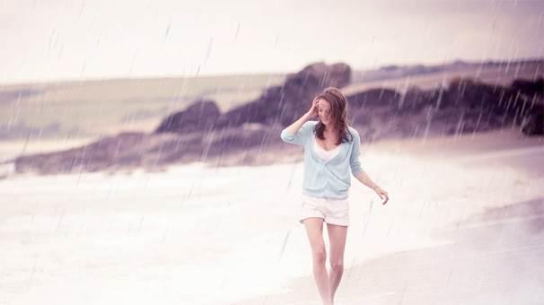 Filmlerde ya da dizilerdeki yağmur romantizmi