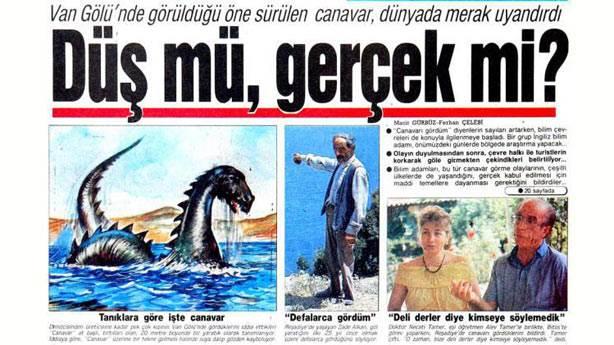 10. Loch Ness Canavarı türünün tek örneği değil