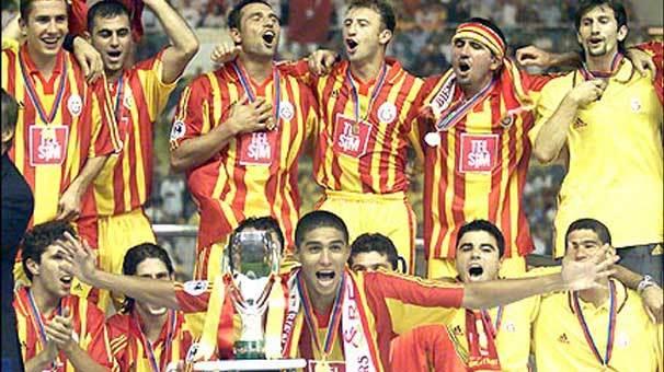 Galatasaray'dan sonra ilk kez