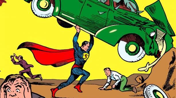 1. Süper kahraman ekolü Superman ile oluştu