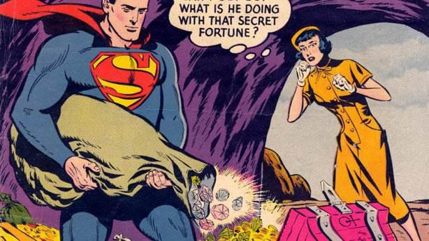 3. Superman'in yaratıcıları paraya para demedi