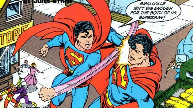 5. Superman ve Superboy aynı kişilerdi