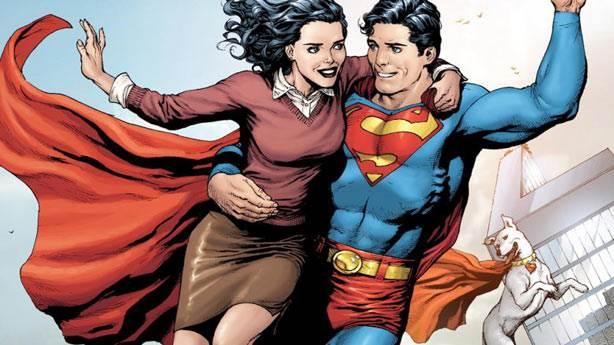 7. Superman'in tek gerçek aşkı Lois Lane'dir
