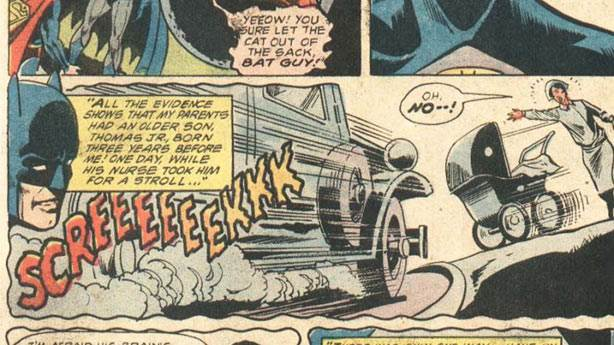 10. Batman'in kardeşi yoktur