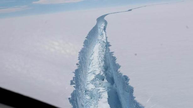 Antarktika'da hava ısısı normalin 20 C üzerinde!