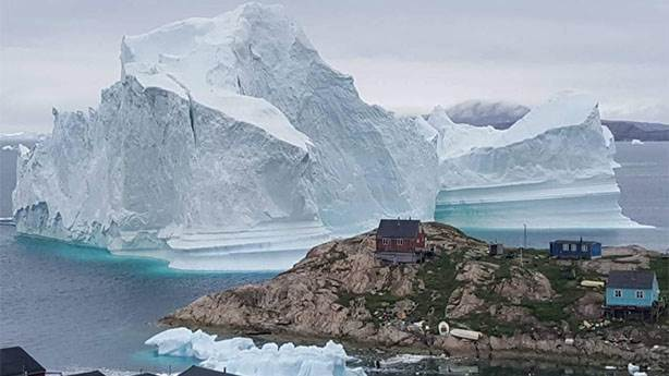 Grönland'ta tehlikeye ramak kalmıştı!