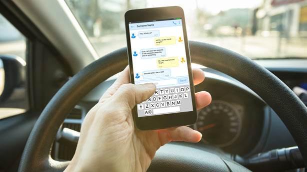 8. Trafik kazalarının yüzde 25'ten fazlasının sebebi cep telefonu
