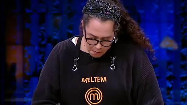 Finalist olan ilk kadın yarışmacı: Meltem