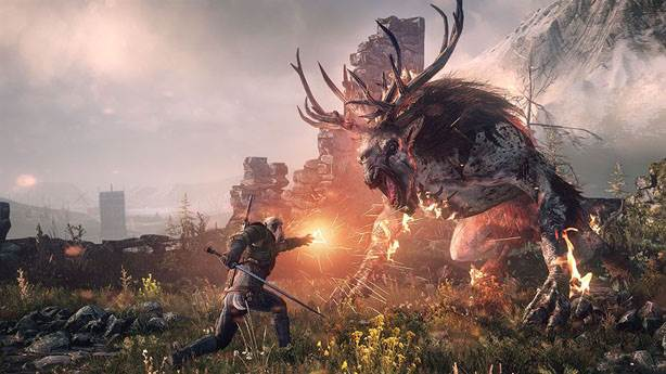 4- The Witcher 3: Wild Hunt