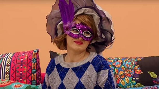 Acılı anneye yılbaşı maskesi!