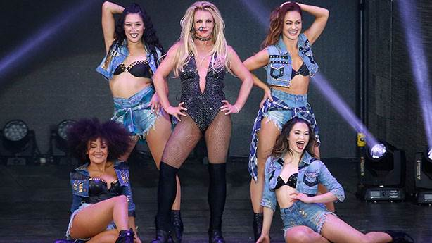 2- Britney Spears