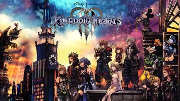 3- Kingdom Hearts 3