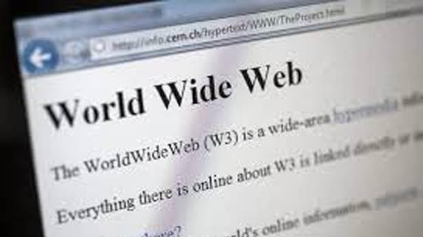 3- İlk web sitesi