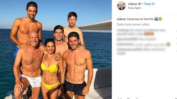 Zidane Ailesi'nin tarzı bu