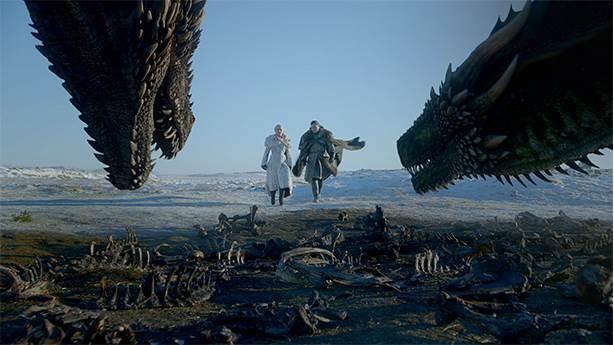 f. Jon Snow'un yeni kankası Rhaegal olacak