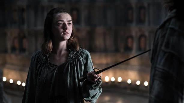 a. Arya Stark – Cersei Lannister