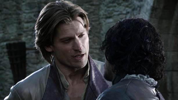 e. Bran Stark – Jamie Lannister