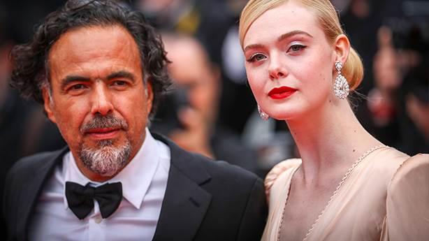 Elle Fanning ve Alejandro González Iñárritu
