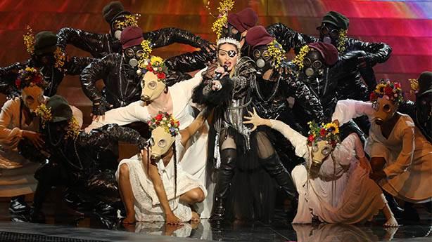 Madonna'nın şovu yıllarca hatırlanacak