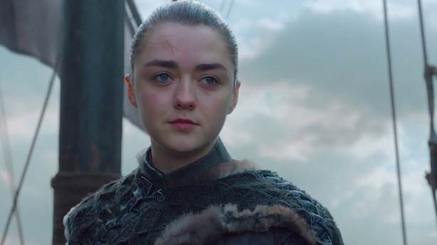 5- Arya Stark