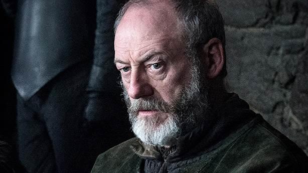 9- Ser Davos Seaworth