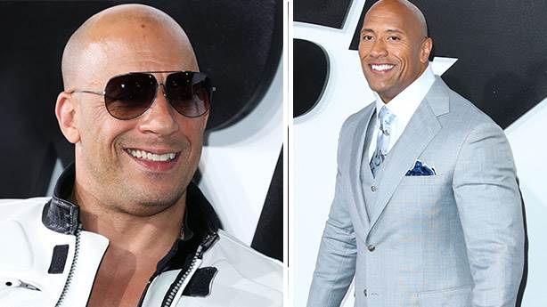 1. Dwayne Johnson ve Vin Diesel
