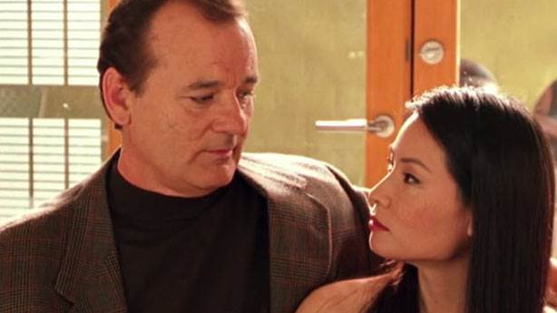 4. Bill Murray ve Lucy Liu
