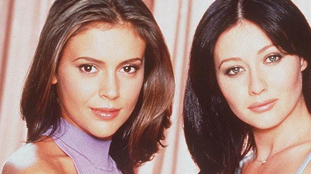 5. Alyssa Milano ve Shannen Doherty