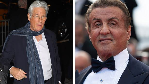 7. Sylvester Stallone ve Richard Gere