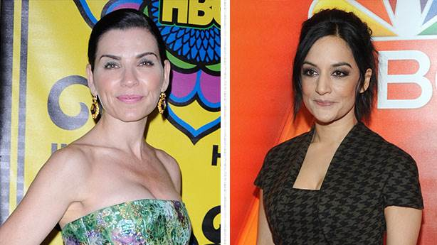 8. Julianna Margulies ve Archie Panjabi