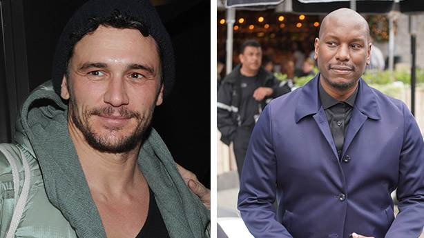 10. James Franco ve Tyrese Gibson