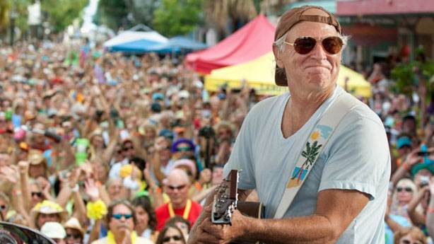 9- Jimmy Buffett - 600 milyon dolar