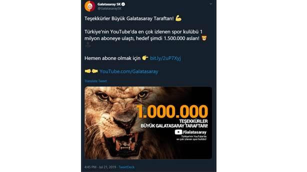 Galatasaray hemen peşinden
