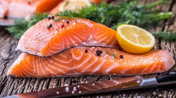 1- Somon balığı