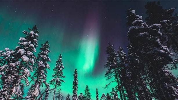 3- Aurora Borealis