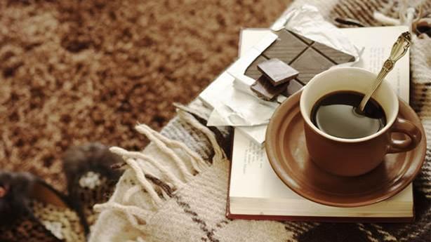 1- Tabii ki kahve, çikolata, battaniye...