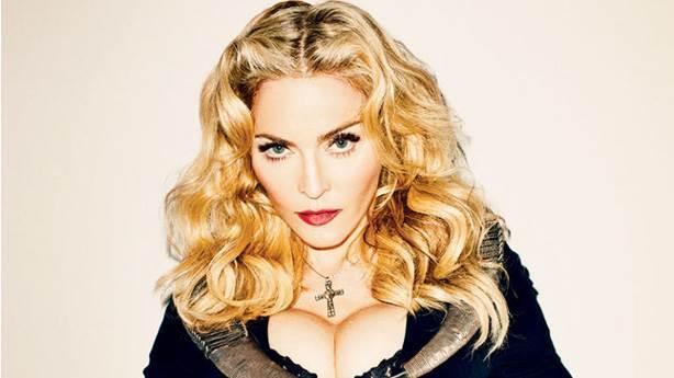 Sean Penn'le evli olan Madonna'ya...