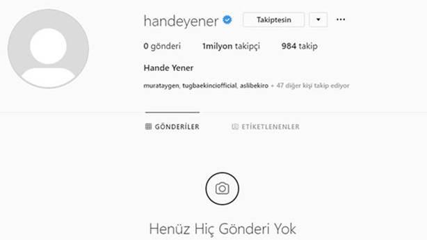 Instagram'dan fotoğrafları kaldırdı