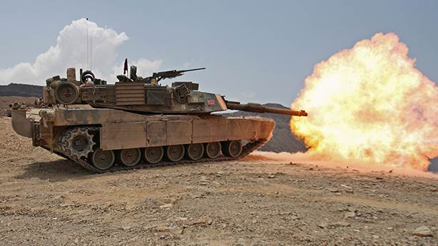 2- M1 Abrams