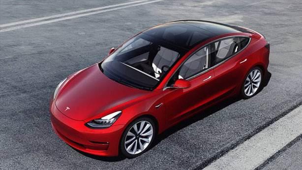 3- Tesla Model 3