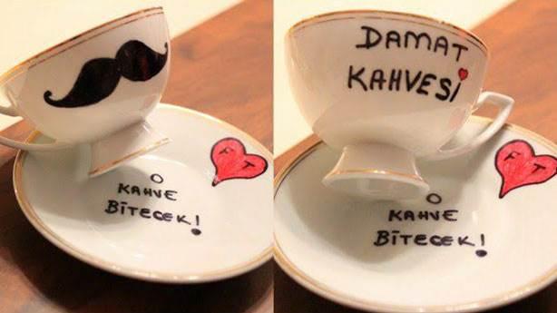Kahvenin tuzlu olduğunu anlarsa…
