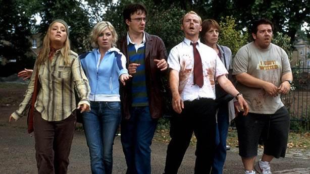 Shaun of the Dead (Zombilerin Şafağı) - 2004 (IMDb: 7.9)