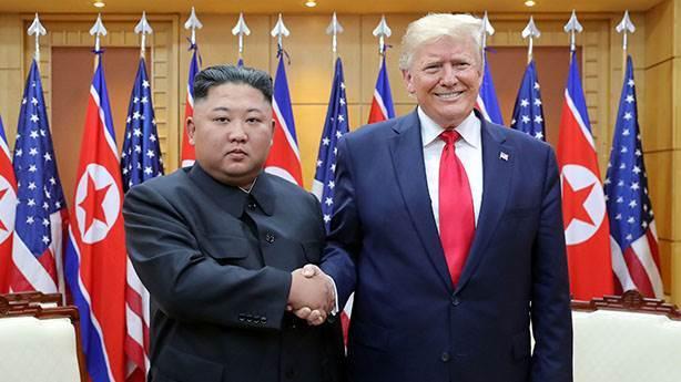 Trump'tan Kuzey Kore'ye romantik Corona virüs mektubu
