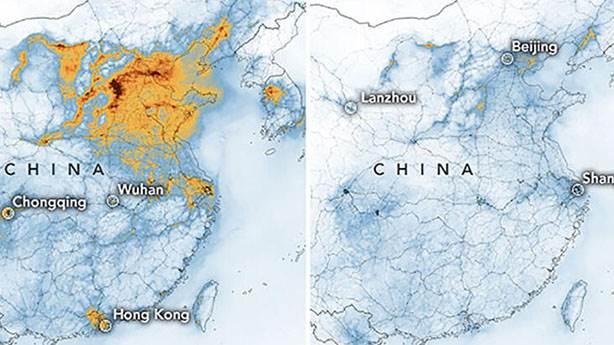 Çin'in havası temizlenmeye başladı
