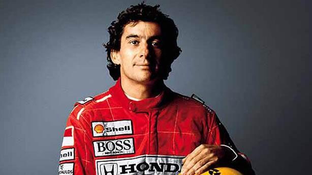 2- Ayrton Senna