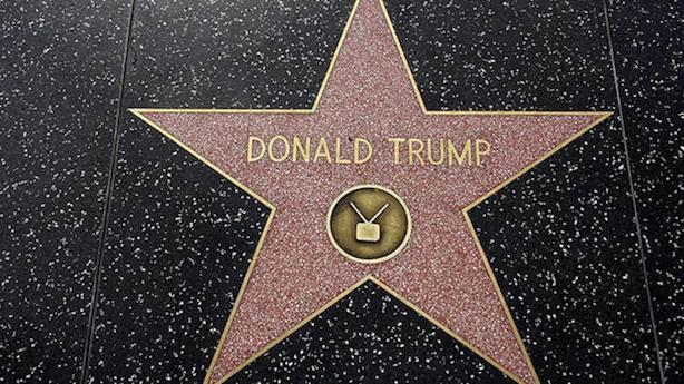 Hollywood Bulvarı'nda Trump'ın da yıldızı var