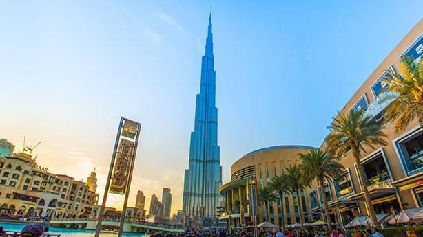 1- Burj Kalifa - 828 metre (Dubai, BAE)