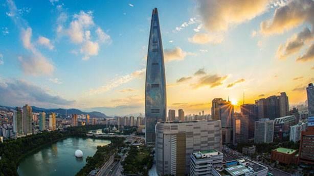 5- Lotte World Tower – 554.5 metre (Seul, Güney Kore)